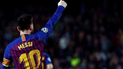 Messi raggiunge quota 600 reti con il Barcellona