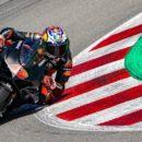 Jack Miller sulla Ducati Panigale V4R di Bautista
