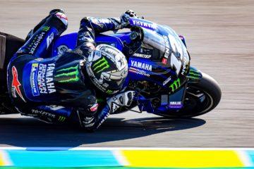 Yamaha al top nelle PL2 di Le Mans, grazie a Maverick Vinales, autore del giro più veloce (foto da: motogp.com)