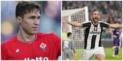 La Juventus pensa a Federico Chiesa: possibile scambio con Higuain