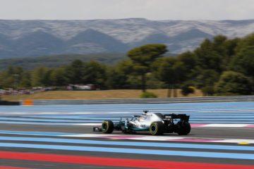 Bottas in pista sul circuito Paul Ricard. Fonte: Twitter Bottas