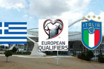 Grecia-Italia, 3° giornata delle qualificazioni agli Europei 2020