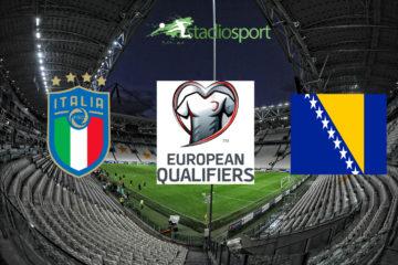 Italia-Bosnia, 4° giornata di qualificazione agli Europei 2020.