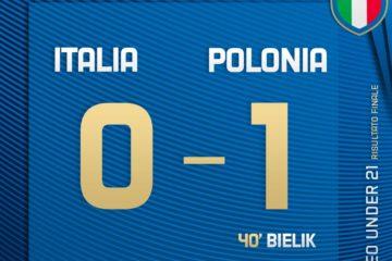 Italia Under 21 - Polonia Under 21, 2° giornata Europei Under 21.  Fonte: Twitter Azzurri