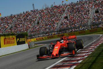 Vettel durante il gran premio del Canada di domenica scorsa. Fonte: Twitter Vettel