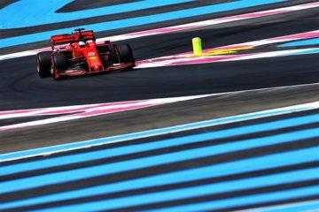 Vettel sul circuito intitolato a Paul Ricard Fonte: Twitter Vettel
