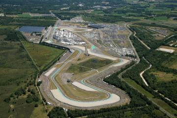 Vista dall'alto del circuito olandese di Assen (foto da: twitter.com/ttcircuitassen)