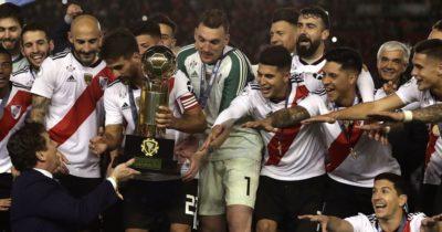 Il River Plate vince la terza Recopa Sudamericana della sua storia