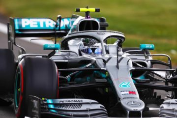 Bottas ha fatto stampare il miglior tempo nelle seconde prove libere sul circuito di Silverstone.  Fonte: Twitter Bottas