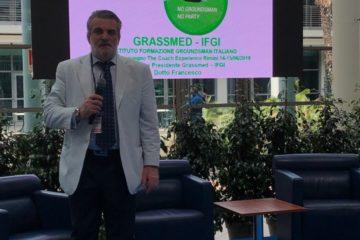 "Francesco Dotto, presidente dell'Associazione ""Grassmed"".  Fonte: Facebook Francesco Dotto"