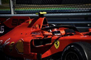 Leclerc ha ottenuto un ottimo terzo posto nelle prove libere di Silverstone, a solo un decimo e mezzo da Hamilton.  Fonte: Twitter Leclerc