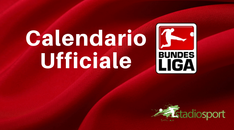 Bundesliga Calendario.Bundesliga 2019 2020 Ecco Il Calendario Ufficiale Con Tutte