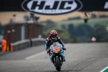 Miglior crono per Fabio Quartararo nelle prime libere del Gran Premio di Germania 2019 al Sachsenring (foto da: motogp.com)
