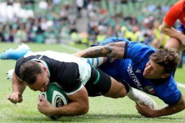 Irlanda-Italia rugby 2019