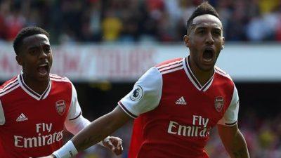 Arsenal-Aston Villa 3-2