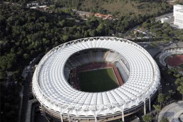 """Foto profilo di una pagina """"Facebook"""" dedicata allo stadio Olimpico di Roma"""
