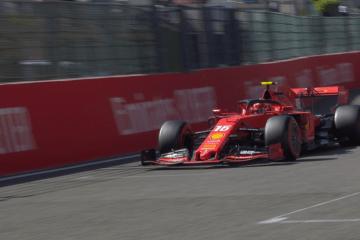 Charles Leclerc ha ottenuto il miglior crono nella seconda sessione di prove libere in Belgio (foto da: twitter.com/F1)