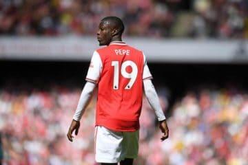 Pepè Arsenal Tottenham