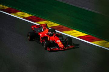 Terza pole in carriera per Charles Leclerc, che domina le Qualifiche di Spa-Francorchamps (foto da: twitter.com/ScuderiaFerrari)
