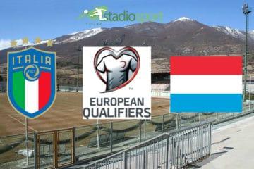 Italia Under 21 - Lussemburgo Under 21, 1° giornata qualificazione Euro 2021