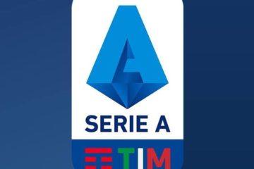 """Logo ufficiale della Serie A TIM 2019/2020, presente nella pagina """"Facebook"""" ufficiale """"Lega Serie A"""""""