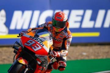 Marc Marquez ha impressionato nella prima sessione di libere del Gran Premio d'Aragona 2019 (foto da: motogp.com)