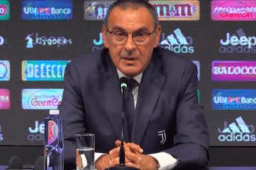 Sarri conferenza Juventus