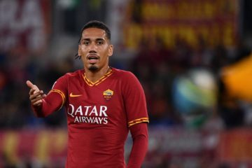 Smalling, al suo esordio in campionato, è stato uno dei migliori in campo.  Fonte: As Roma