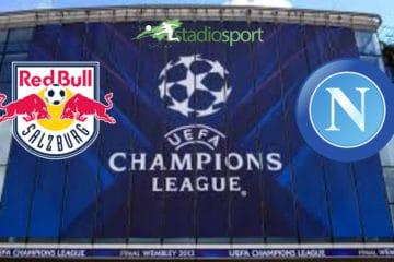 Salisburgo-Napoli, 3° giornata di Champions League