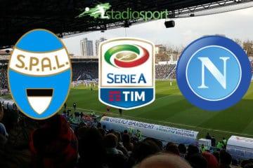 Spal-Napoli, 9° giornata di Serie A.