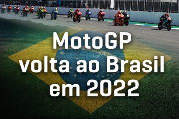 La MotoGp tornerà ad essere ospitata in Brasile dal 2022.  Fonte: MotoGp Twitter