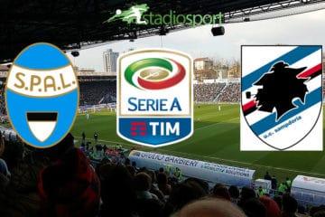 Spal-Sampdoria, 11° giornata di Serie A