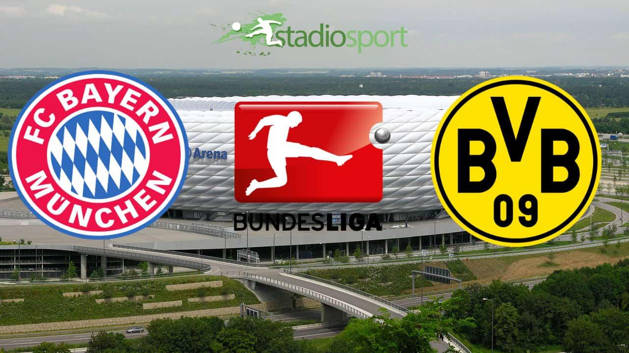 Bayern Monaco-Borussia Dortmund, 11° giornata di Bundesliga