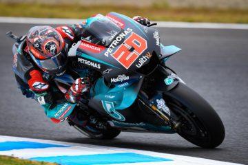 Fabio Quartararo durante le prime libere del Gran Premio del Giappone 2019. In Australia il francese vuole confermarsi rivale principale di Marc Marquez (foto da: motogp.com)
