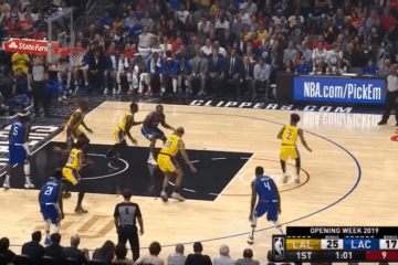 La nuova stagione NBA è partita subito con l'attesissimo derby angeleno, che ha visto i Clippers imporsi sui Lakers (foto da: youtube.com)