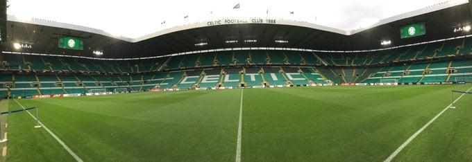 """Panoramica del """"Celtic Park"""", foto presente nell'archivio della pagina """"Facebook"""" dell'impianto scozzese"""