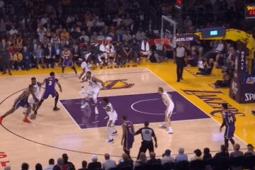 Trascinati dai 53 punti del duo James-Davis, i Lakers si sbloccano, battendo i Jazz allo Staples Center (foto da: youtube.com)