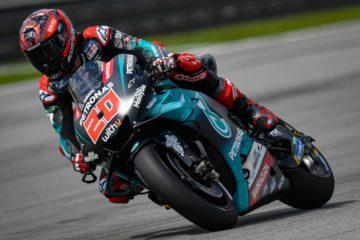 Fabio Quartararo ha dominato il venerdì del Gran Premio della Malesia 2019, imponendosi sia nelle PL1 che nelle PL2 (foto da: motogp.com)