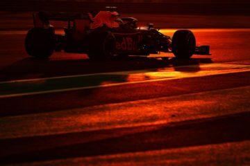 Verstappen mentre è in pista durante le prove libere di Abu Dhabi.  Fonte: Verstappen Twitter