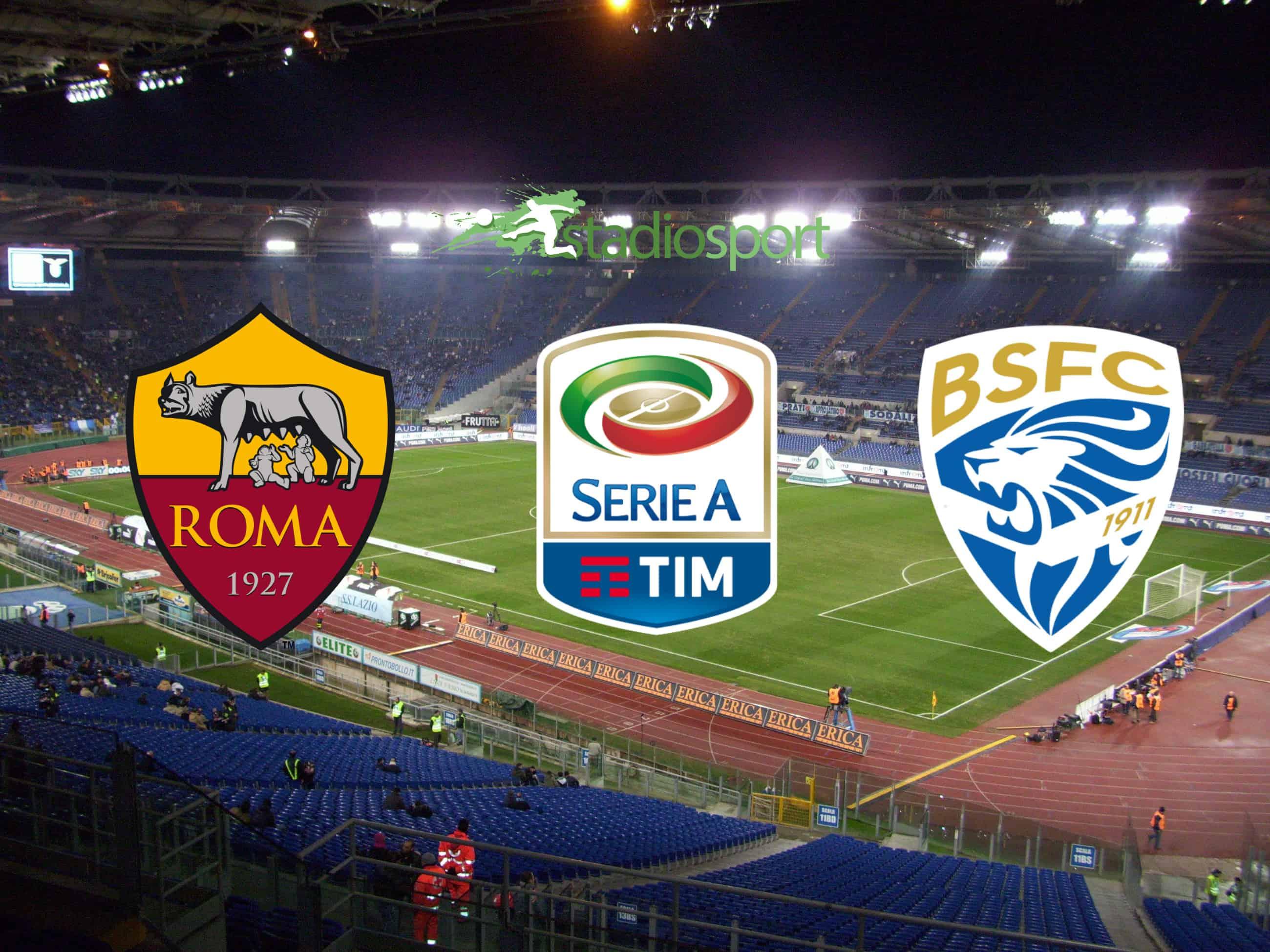 Dove Vedere Roma Brescia In Diretta Tv E Streaming Live 13 Giornata Serie A 24 11 2019 Stadiosport It