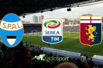 Spal-Genoa, 13°giornata di Serie A