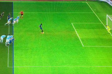 Lazio-Lecce: polemiche sul gol annullato a Lapadula