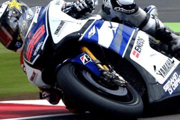 Jorge Lorenzo, Yamaha, durante la stagione 2012, che lo consacrò Campione per la quarta volta, seconda nella top class (foto da: youtube.com)