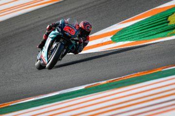 Sesta pole stagionale per Fabio Quartararo, che scatterà davanti a tutti domani a Valencia, nell'ultima gara del 2019 (foto da: motogp.com)