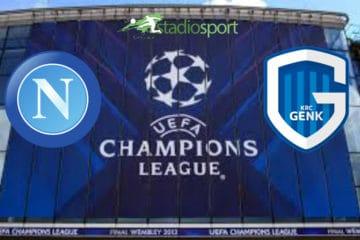Napoli-Genk, 6° giornata di Champions League.