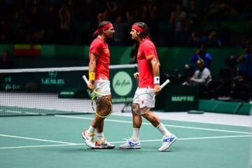 (Fonte: Profilo Twitter Ufficiale Davis Cup by Rakuten Madrid Finals)