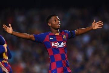 Barcellona Ansu Fati