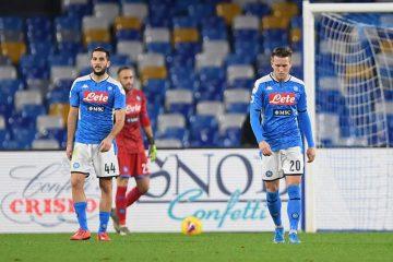 Una fase di Udinese-Napoli, foto presa dall'archivio della pagina ufficiale della Champions League