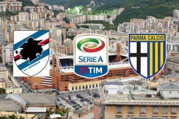 Sampdoria-Parma. 15° giornata di Serie A