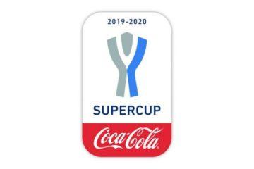 Nuovo logo della Supercoppa Italiana con lo sponsor